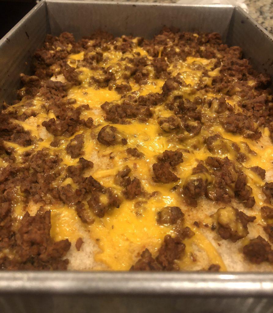 keto, soft taco, casserole, shredded cheddar cheese, tortilla, net carbs