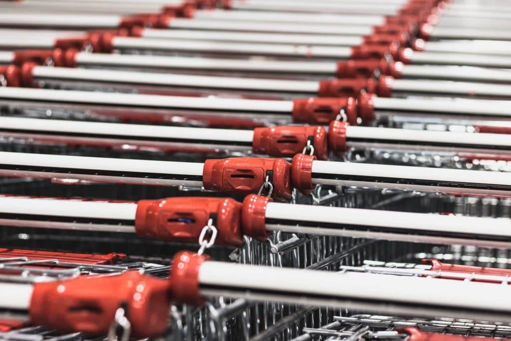 Arrange your cart.