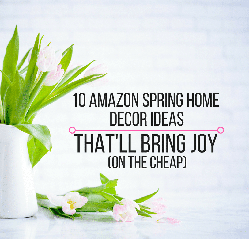10 Amazon Spring Home Decor Ideas Thatu0027ll Bring Joy (On The Cheap)   Olivia  Wyles