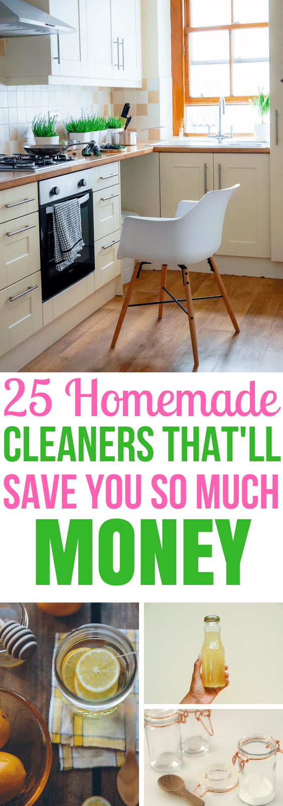 These homemade cleaners are AMAZING! I'm so glad I found these really great home hacks! Now I can make these for pennies and save tons of money on household cleaners! #DIY #cleaning #homehacks #frugalliving #cleaninghacks #cleaningtips #diyprojects #cleaningguide
