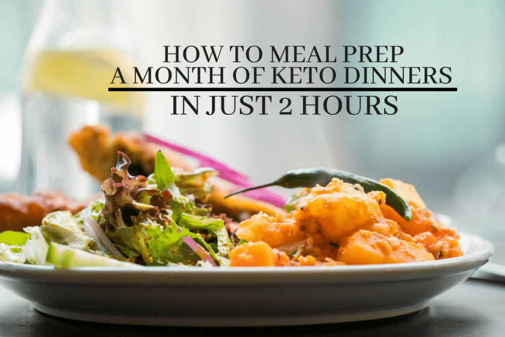 keto meals for a month