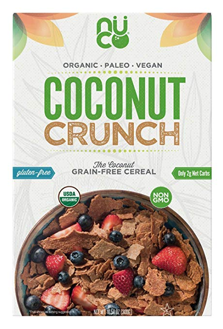 Coconut Crunch Low Carb Grain Free Cereal