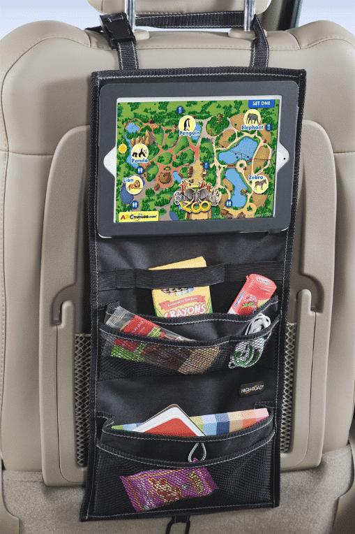backseat organizer for back to school organization