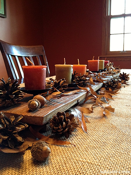Easy Fall Tablescape