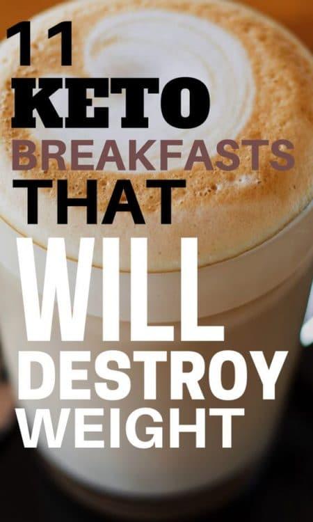 11 Keto Breakfast Recipes Easy (Low Carb, Gluten Free, Sugar Free)