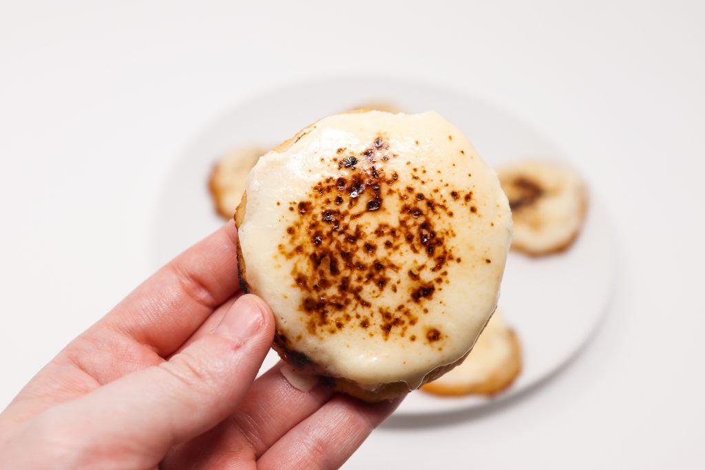 Keto Crème Brûlée Cookies