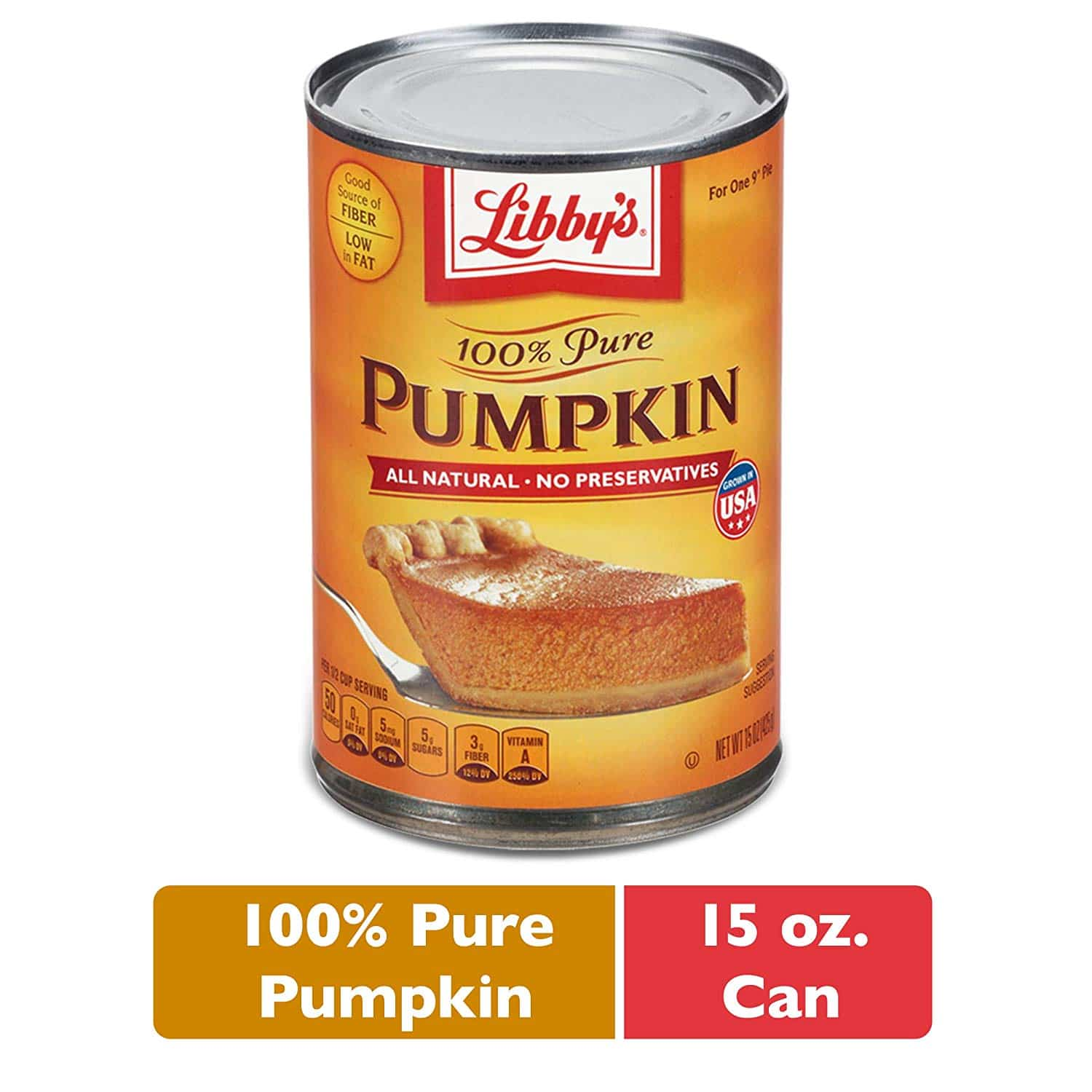 100% Pure Pumpkin Puree