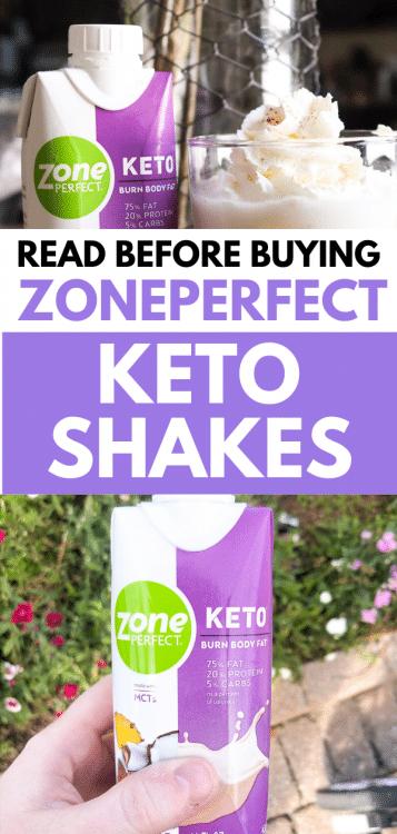 ZonePerfect Keto Shakes