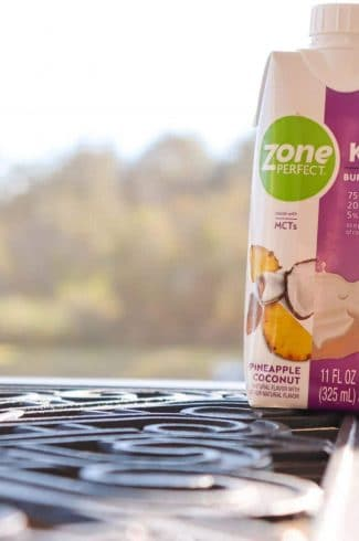 ZonePerfect Keto Shakes Pineapple Coconut