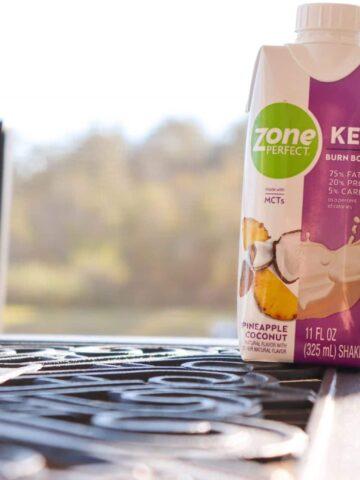 ZonePerfect Keto Shakes Pineapple Coconut