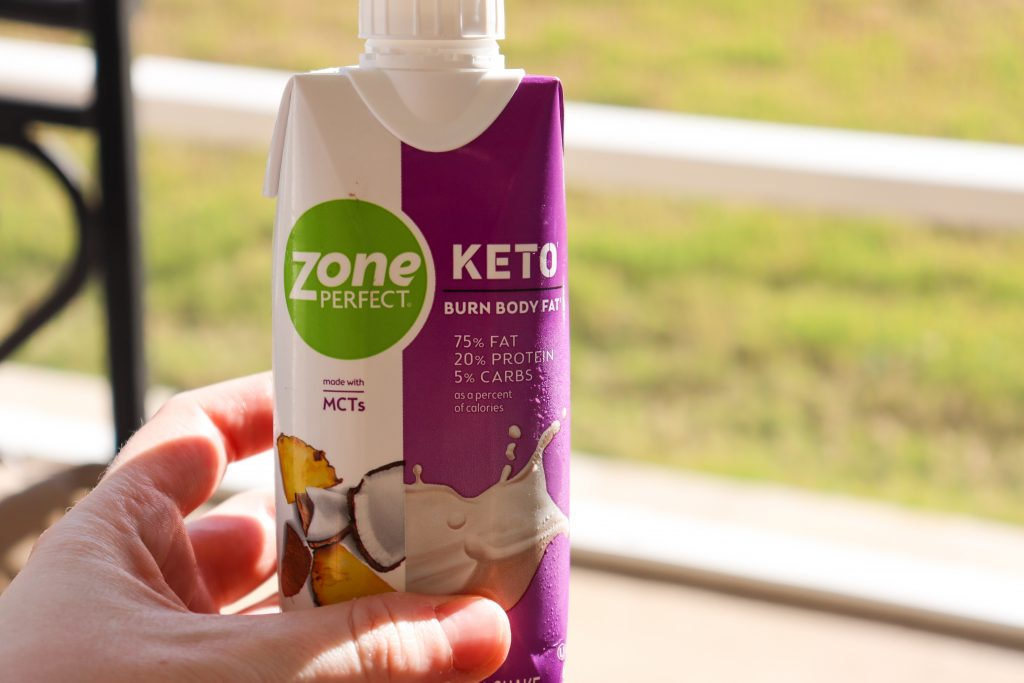 ZonePerfect Keto Shakes Outside Fitness