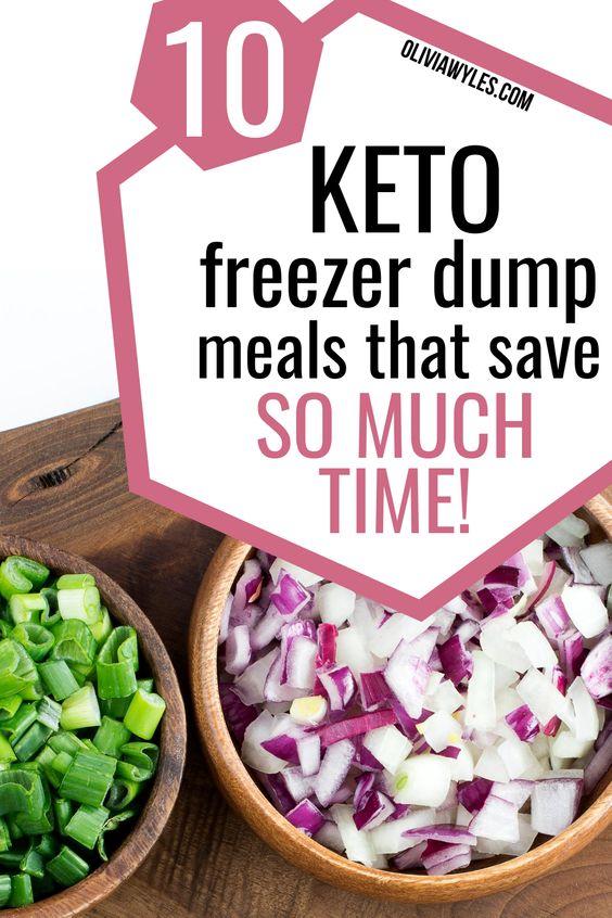 10 Easy Low Carb Crockpot Meals (Keto, Gluten Free, Sugar Free, Freezer Dump, Meal Prep)