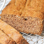 Keto Paleo Low Carb Holiday Spice Cake Recipe - Quick & Easy - This moist, keto low carb spice cake is made with almond flour & coconut flour. And, this paleo spice loaf recipe is EASY with 10-minute prep! Sugar-free and gluten-free, but tastes just like the real thing.