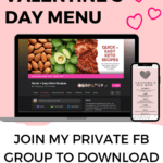 valentine's day menu Keto foods