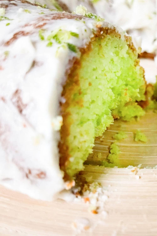 Keto Key Lime Pound Cake Pin 1