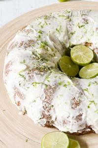 Key lime pie meets pound cake in this low carb grain-free recipe